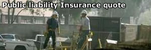 After having a quote for public liability insurance